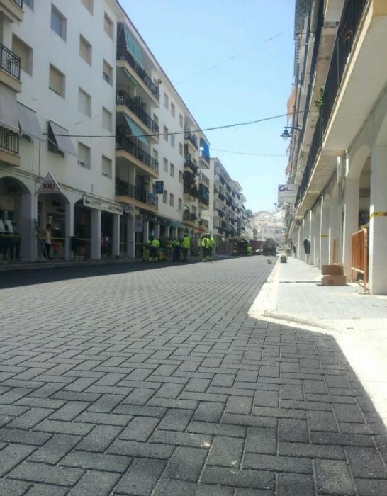 Les obres de l'Avinguda Jaume I finalitzaran aquest pròxim dissabte