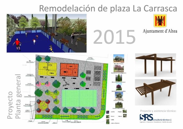 Demà s'obri al públic el Parc de la Plaça la Carrasca