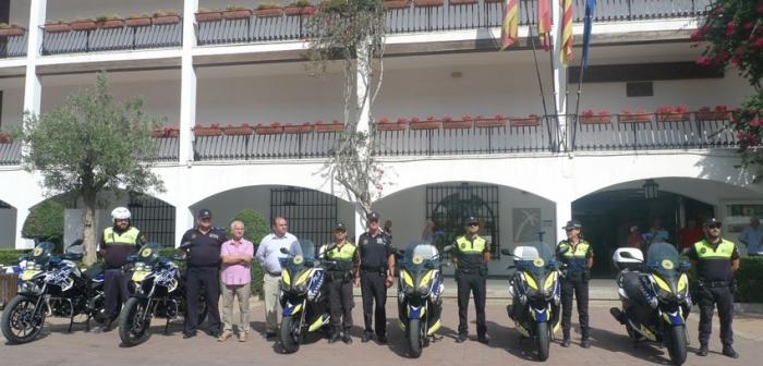 La Policia Local ja disposa de sis noves motocicletes per a renovar el seu parc mòbil