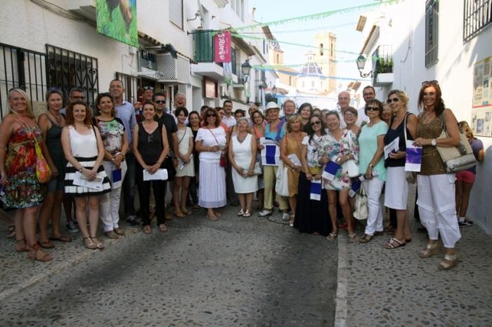 El Casc Antic acull la inauguració de 'Balconades' i la Fira del Xicotet Format