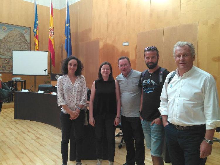 Altea participa a la Junta Rectora del Parc Natural de la Serra Gelada
