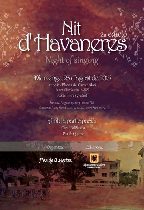 Torna la música d'havaneres amb la segona edició de 'Nit d'Havaneres'