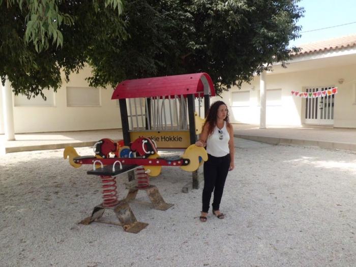 Educació instal·larà mòduls de jocs infantils en el CEIP El Blanquinal