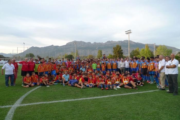 Presentació en la Ciutat Esportiva dels 13 equips de la UD Altea