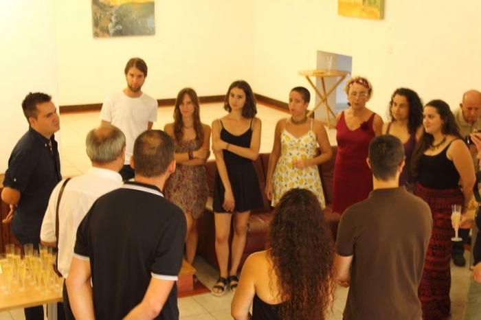 La Casa Toni el Fuster acull l'obra dels alumnes de la Beca Paisatge