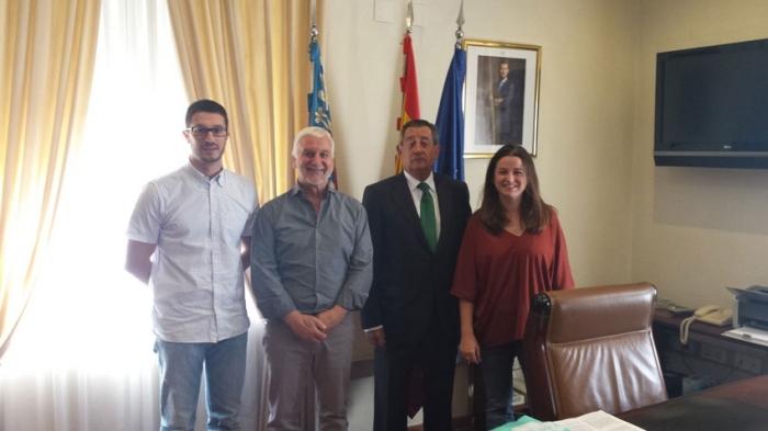Llinares es reuneix amb el Subdelegat del Govern a Alacant per a abordar diferents projectes que depenen del Govern central