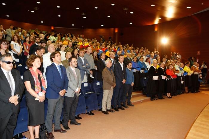 L'alcalde d'Altea assisteix a l'apertura oficial del curs universitari 2015 –2016 a la UMH d'Elx