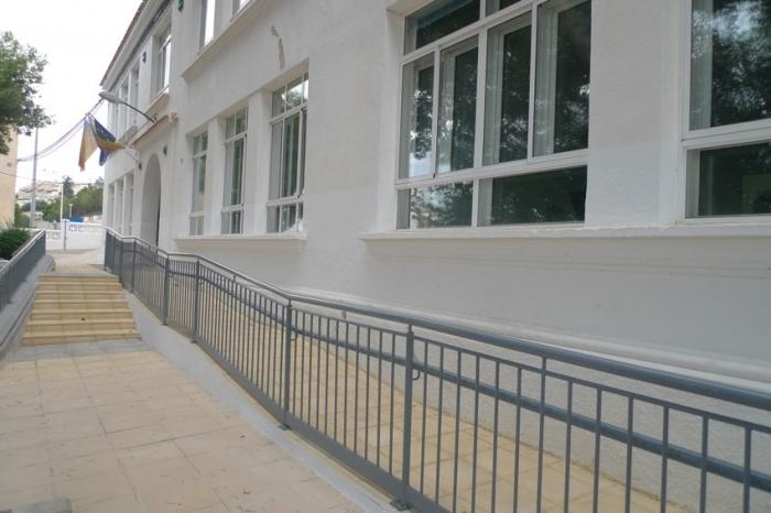 L'Ajuntament finalitza la primera fase de les obres d'accessibilitat del Conservatori Municipal