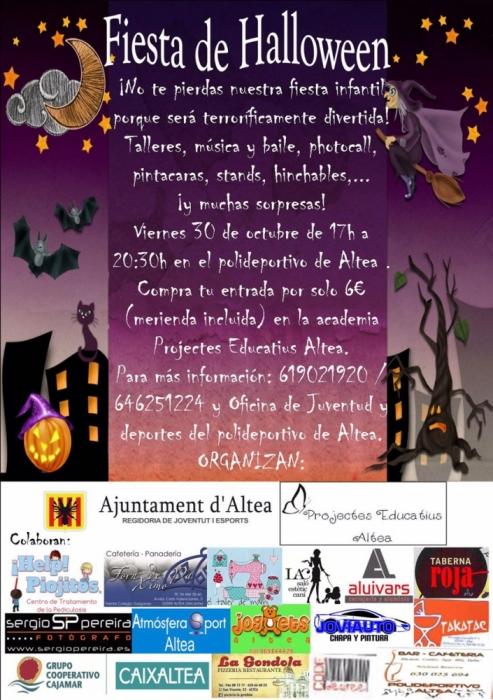 Joventut i 'Projectes Educatius' organitzen una festa de 'Halloween' per al divendres 30 d'octubre