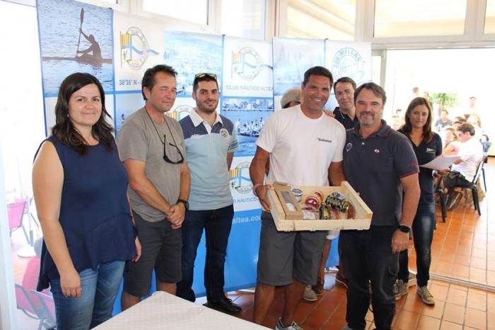 Orozco i Barber assisteixen al lliurament de premis de dues regates del Club Nàutic d'Altea