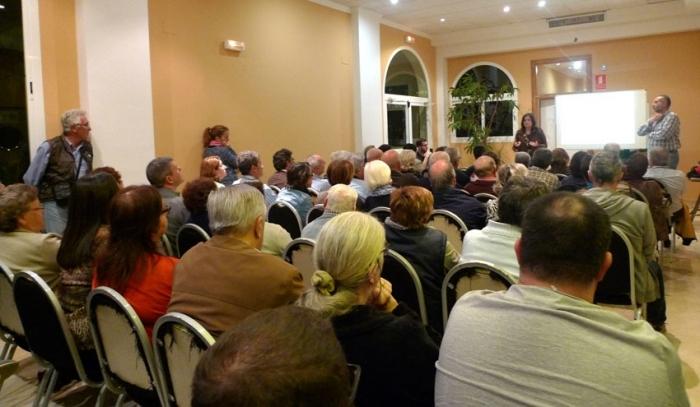 L'última reunió sobre el Pla de Participació Ciutadana per a la revisió del PGOU reuneix en Altea la Vella a més de 150 veïns