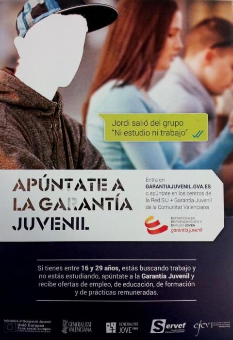 Joventut presenta el programa ''Garantia Juvenil'' per fomentar l'accés dels joves al mercat laboral