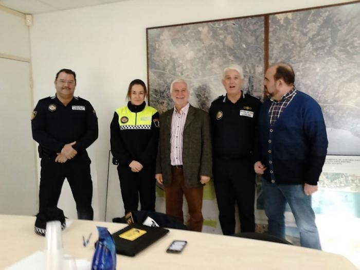 Presa de possessió d'una nova agent de la Policia Local d'Altea