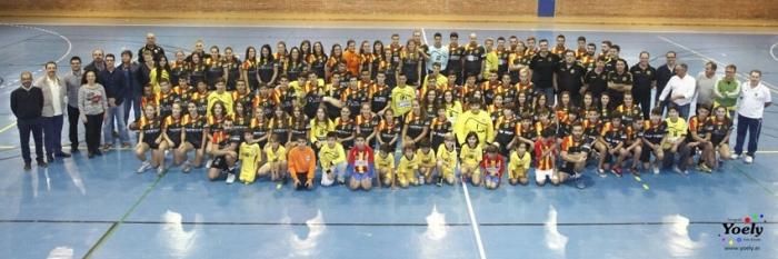 El Club Esportiu Vila Blanca Handbol Altea presenta als seus set equips per a la temporada 2015/2016