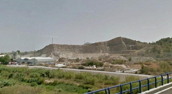Roque Ferrer informa sobre la restauració del buit miner de la 'Cantera Quintanes'