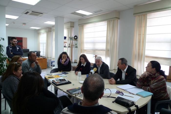 L'Alcalde d'Altea es reuneix amb el Diputat en el Congrés de la Coalició Compromís, Joan Baldoví