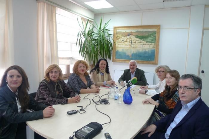 Reunió de treball amb l'equip directiu de l'Àrea de Salut de la Marina Baixa