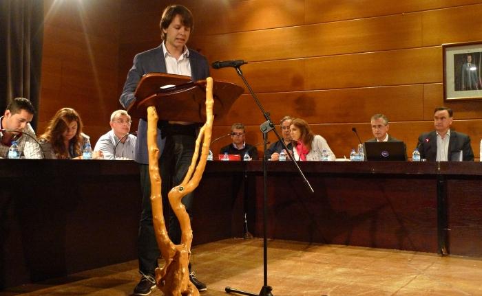 Vicent Sanz Asensi es converteix en el regidor més jove de l'actual Corporació Municipal