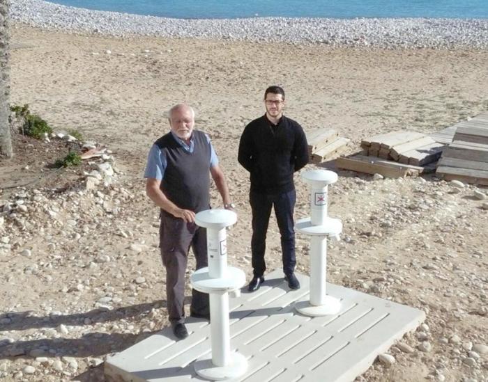 Infraestructures i Platges inverteix 15.913 euros en la modernització dels llavapeus de la Roda i Cap Blanc