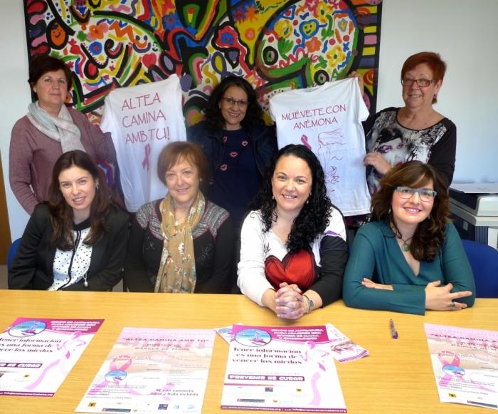 Anémona, el grup d'autoajuda per a dones amb càncer, prestarà els seus servicis a Altea