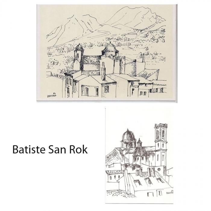 L'Ajuntament d'Altea lamenta la pèrdua de l'artista alteà Batiste San Rok