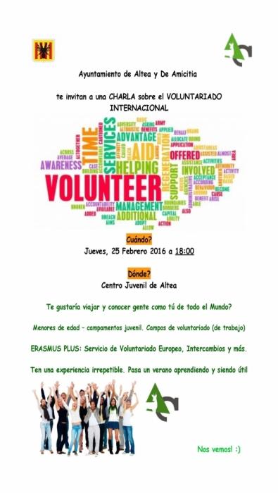 Beatriu Nomdedeu anuncia una xarrada informativa sobre el voluntariat internacional proper dijous