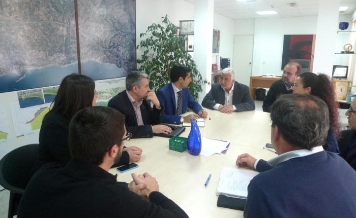 L'Ajuntament i FGV mantenen una reunió de seguiment de les obres del TRAM