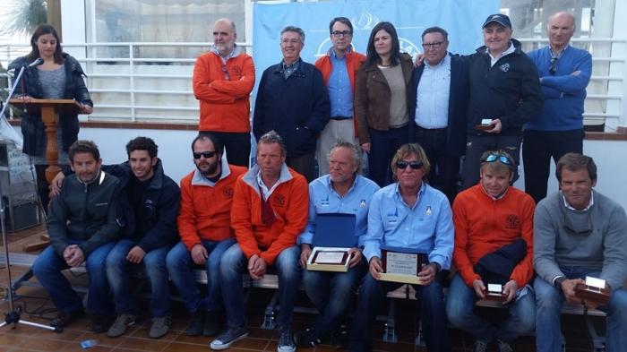 Entrega de trofeus de la regata 200 milles a2