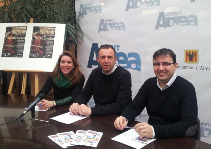 Anna Alvado i Diego Zaragozí presenten la programació turística i cultural per a Setmana Santa