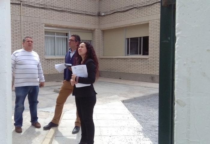 Vicenta Pérez visita el CEIP Les Rotes seguint amb la ronda visites als centres escolars alteans
