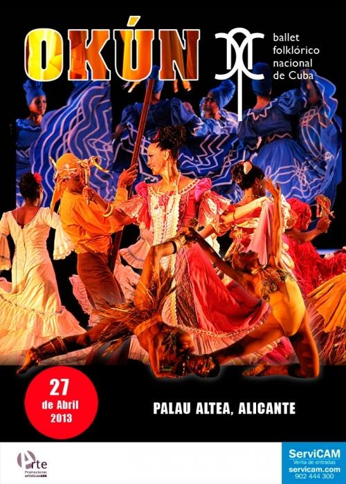 Palau Altea acull aquest dissabte al Ballet Folklòric Nacional de Cuba