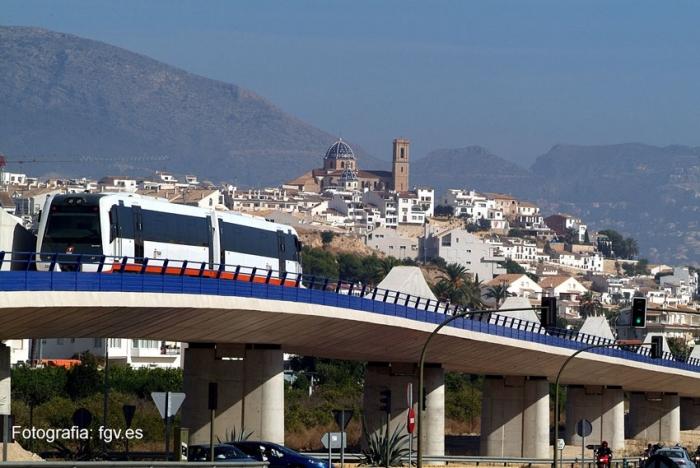 TRAM d'Alacant inicia el dijous les proves amb maquinistes en el tram Altea-Calp de la Línia 9