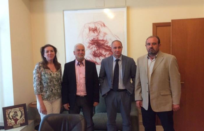 L'alcalde es reuneix amb el director territorial de Presidència de la Generalitat