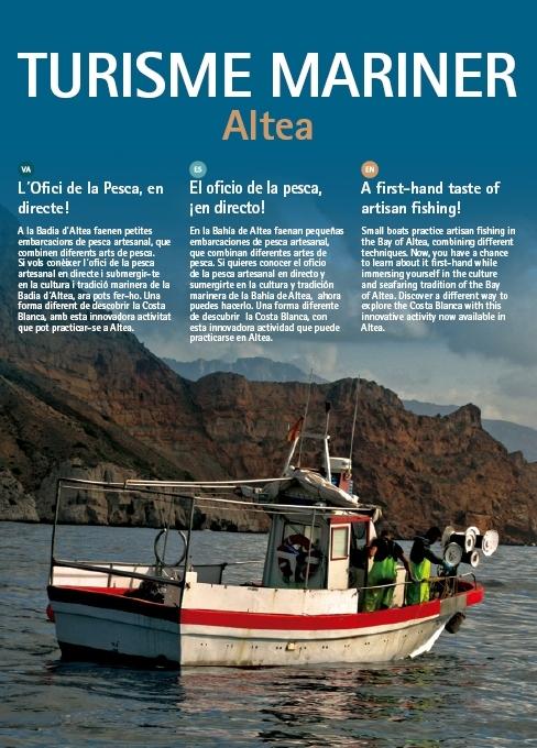 Altea potencia el turisme mariner