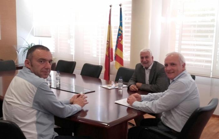 Altea presenta les seues propostes culturals al secretari autonòmic de Cultura i Esport