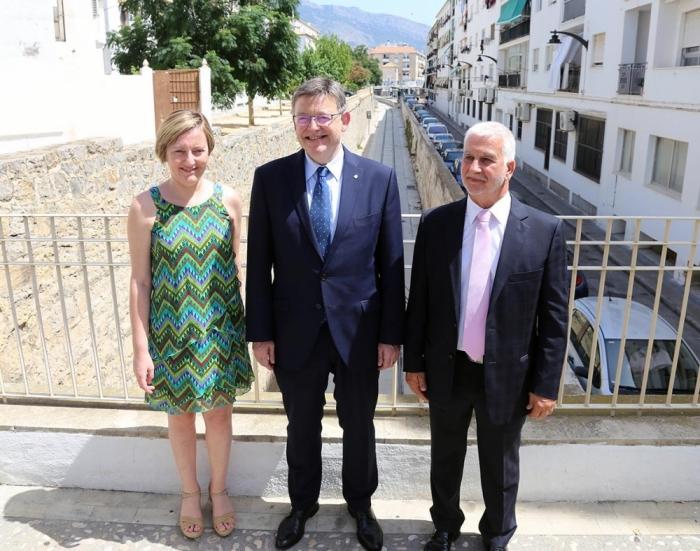 L'alcalde i el president de la Generalitat inauguren la millora i modernització del Tram Altea – Calp
