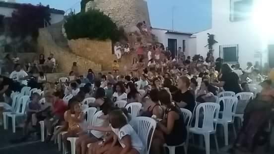 """Rotund èxit de """"Bellaguarda de cine'' pel que han passat més de 1.000 persones"""