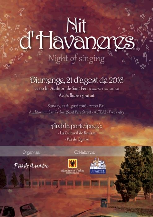 Nova edició del concert de ''Nit d'Havaneres''