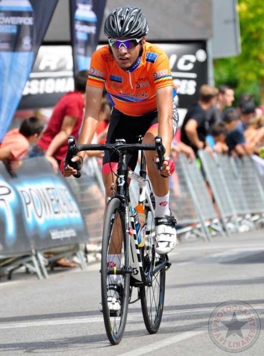 El ciclista alteà Miguel Juan Castellano participa en el Campionat d'Espanya Junior de fons en carretera