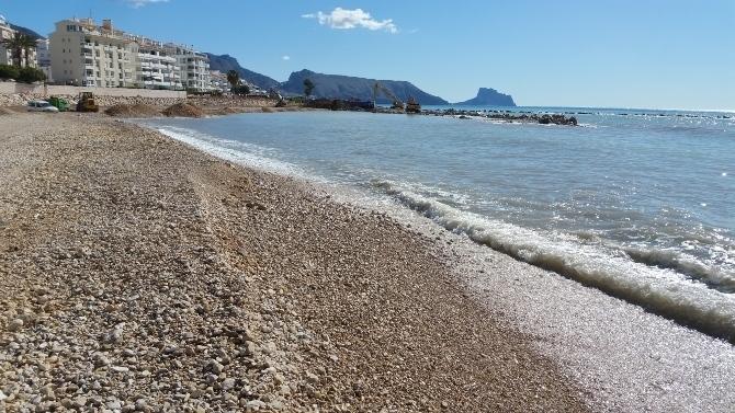 L'Ajuntament d'Altea reivindica davant el Ministeri de Medi Ambient la segona fase de rehabilitació de la façana litoral
