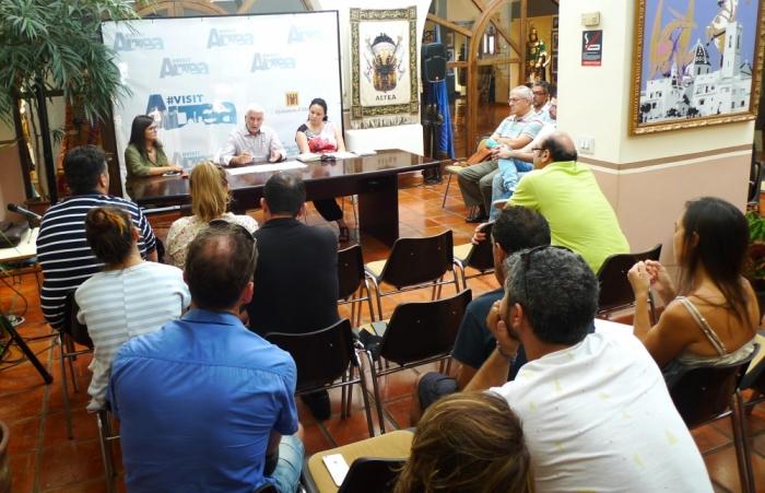 Jaume Llinares es reuneix amb Hospal