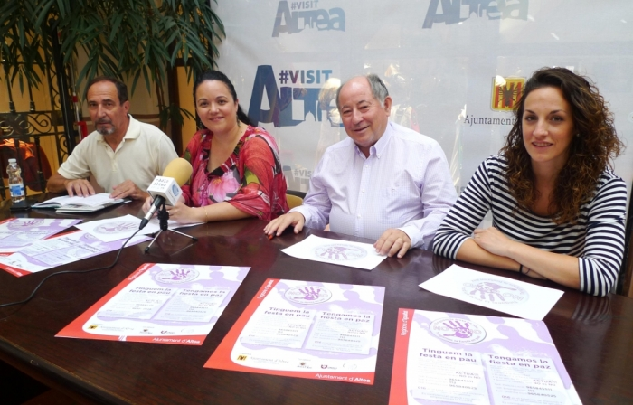 Festes i Igualtat presenten la campanya ''Tinguem la festa en pau''