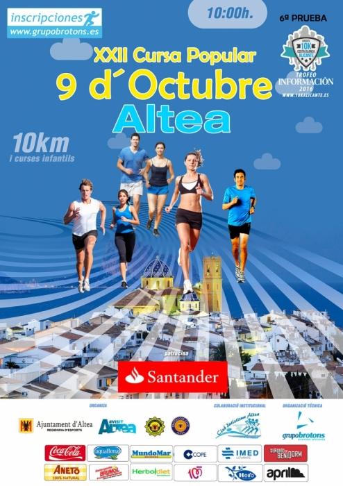 La regidoria d'Esports presenta la XXII edició de la Cursa Popular 9 d'Octubre