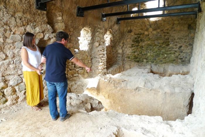 Comença la segona fase dels treballs d'excavació al Molí dels Moros