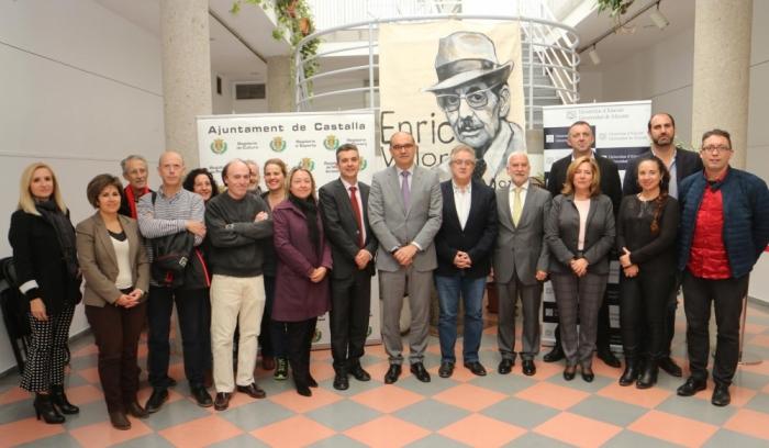 Joan Borja dirigirà la Càtedra Enric Valor de la Universitat d'Alacant