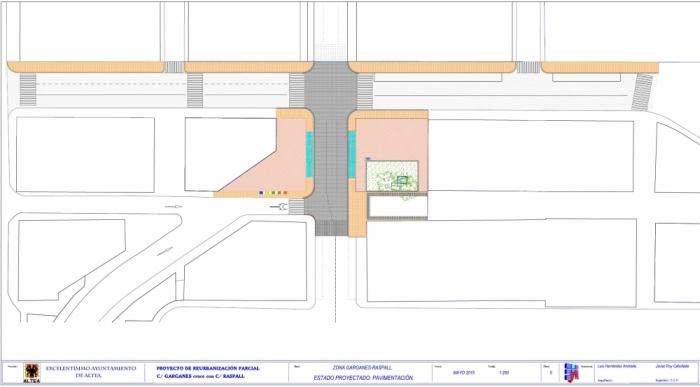 La Diputació d'Alacant tornarà a fresar, asfaltar i pintar els carrers Garganes i Raspall després que l'assaig de caracterització resultara negatiu