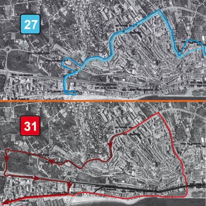 S'amplia l'itinerari de l'autobús interurbà i turístic