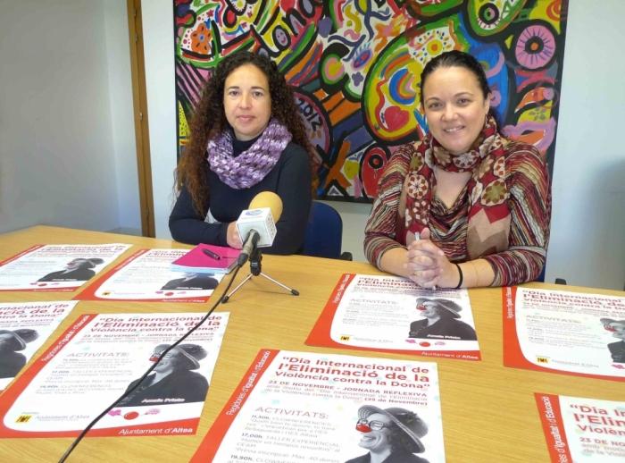 L'Ajuntament commemorarà el Dia Internacional de l'Eliminació de la Violència contra la Dona amb activitats als IES i per a les dones