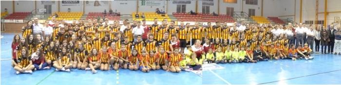 El Club Esportiu Villa Blanca presenta als seus equips per a la temporada 2016/17