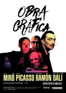 Representació alteana en la inauguració de l'exposició Obra gráfica de Miró, Picasso, Dalí y Navarro Ramón al Museu Històric d'Asp